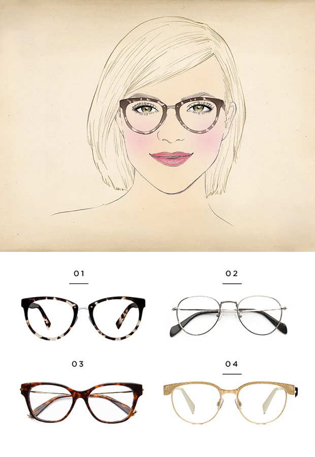 d970560caa The best glasses for a heart face shape