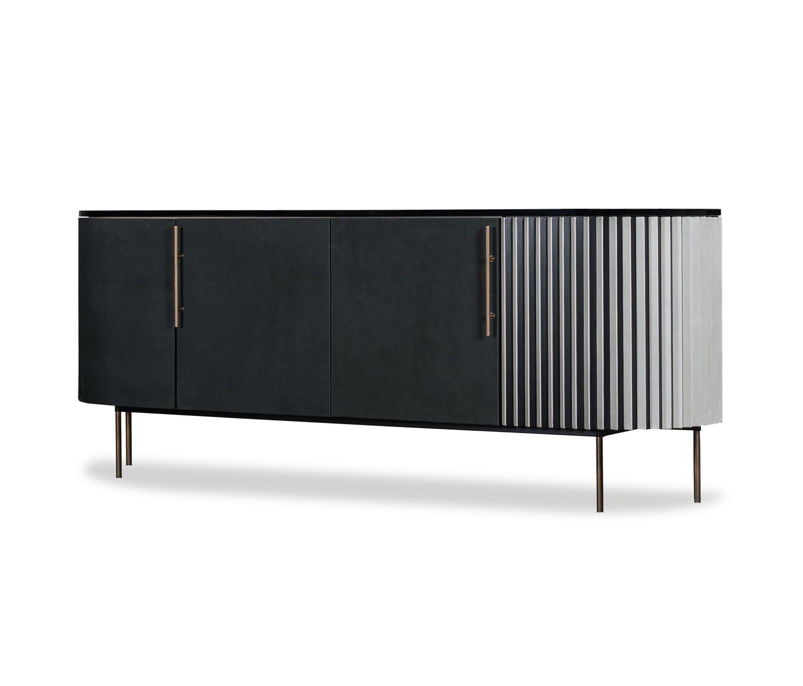 Plisse Low Cabinet Designer Sideboards From Baxter All