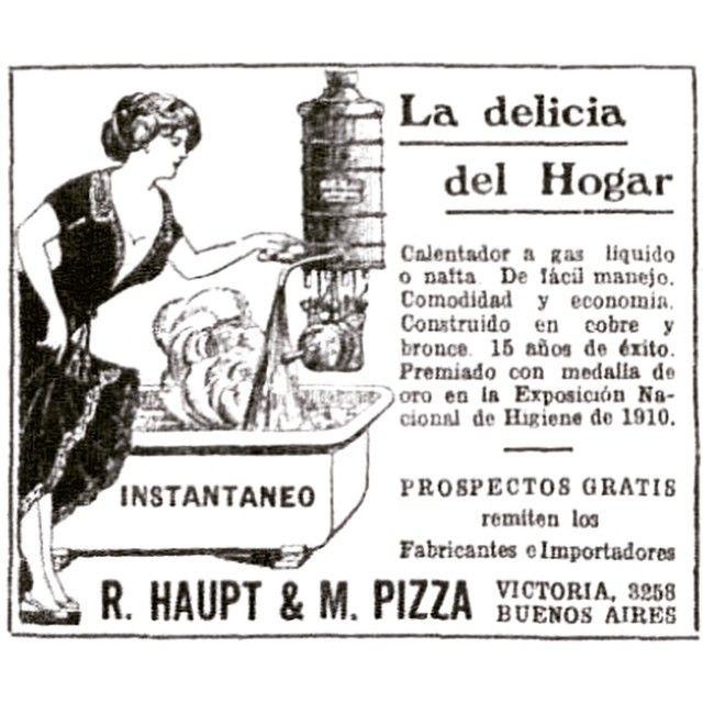 La delicia del hogar  #1921 #argentina #buenosaires #vintage #ads #freelance #diseñoweb #tango