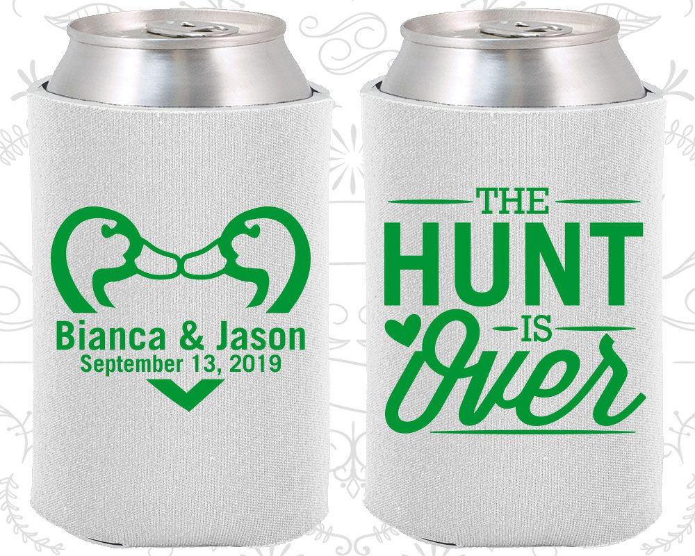 White Wedding, White Can Coolers, White Wedding Favors, White ...