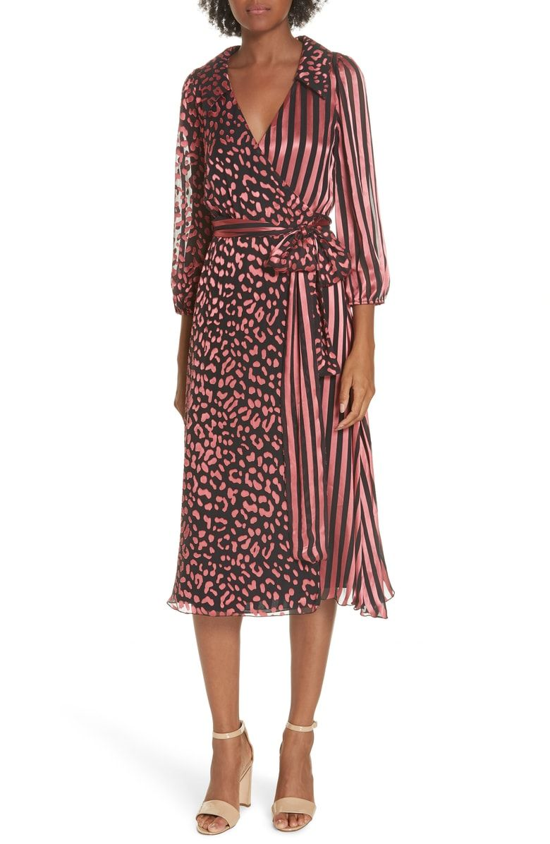 c6961397c7 Free shipping and returns on Alice + Olivia Abigail Wrap Dress at  Nordstrom.com.