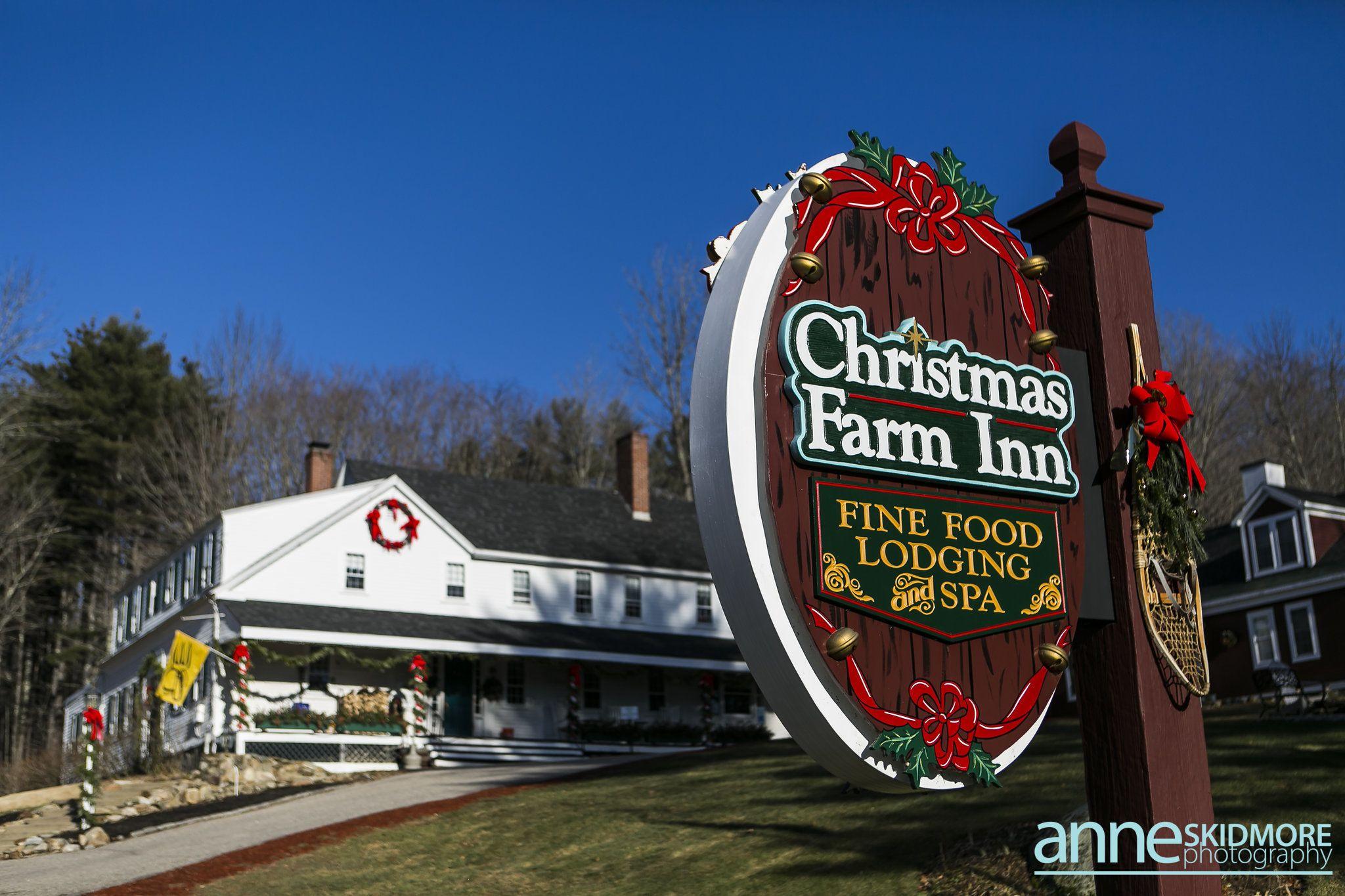 Christmas Farm Inn Spa In 2020 Christmas Farm Christmas Spa