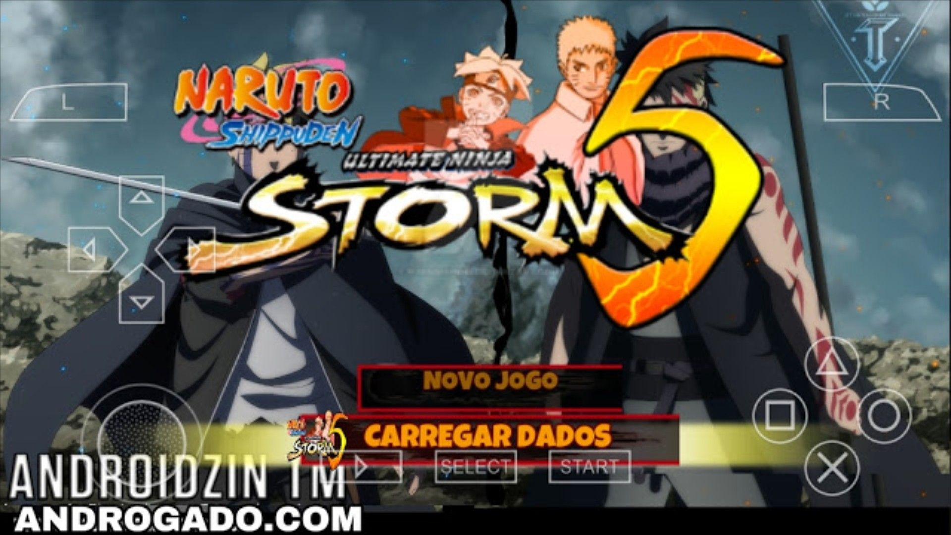 download naruto shippuden ppsspp gold