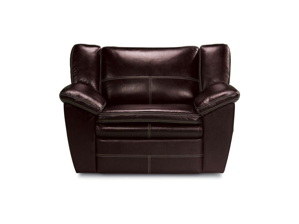 La Z Boy Carmen Chair And A Half Dark Leather Recliner Chair And A Half Chair Brown Leather Recliner Chair
