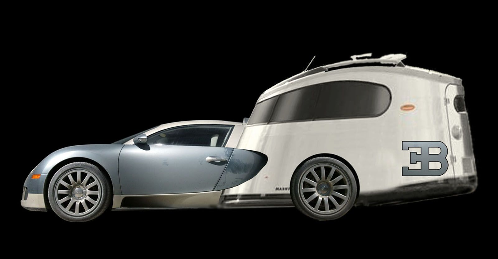Beautiful Bugatti Veyron Camper