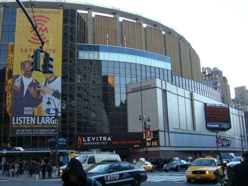 Madison Square Garden Is Located In Manhattan On Seventh Avenue Between  31st And 33rd Streets.