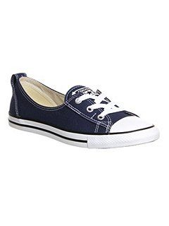 aeea3a0377ae44 Converse ballet lace trainers