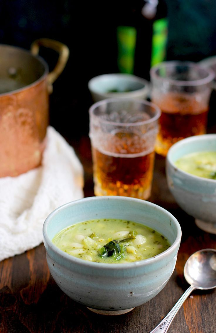 (US) Roasted Poblano Cilantro White Bean Soup - CaliZona