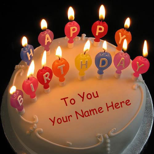 Happy Birthday Wishes By Name