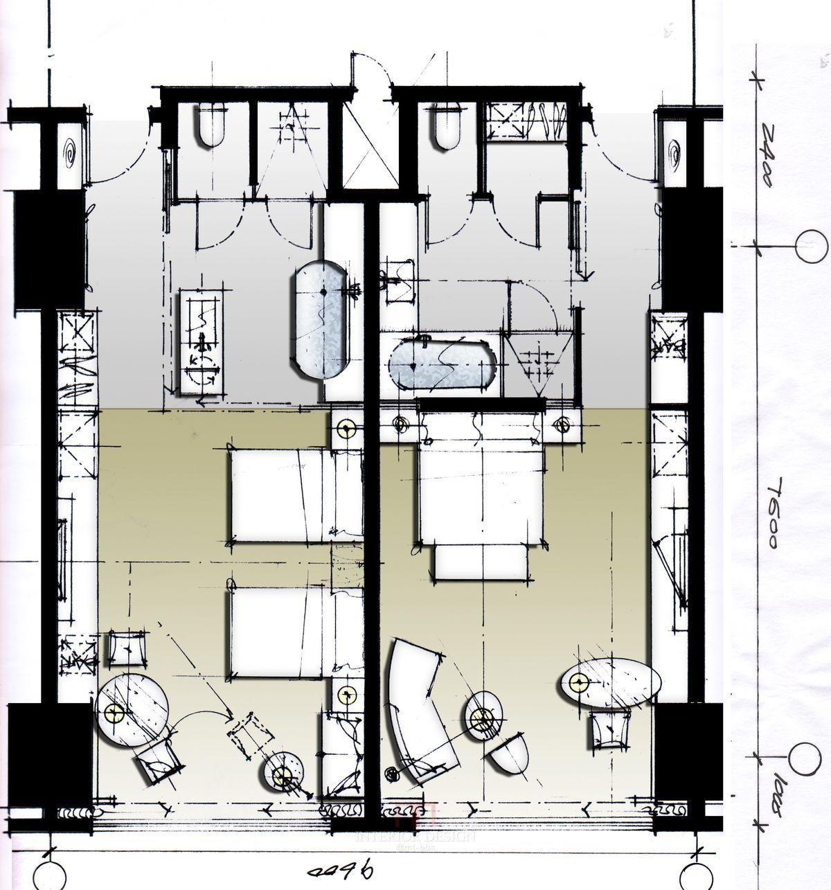 Hotel plan Hotel arquitectura, Plano hotel, Habitaciones