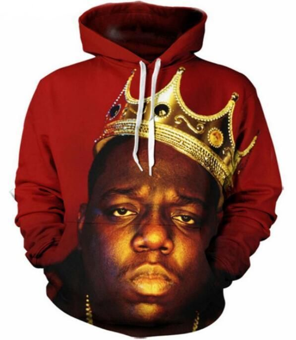 33dcadfdc1bb9 Fashion Women/Men Notorious B.I.G 3D Print Pullover Hoodie ...