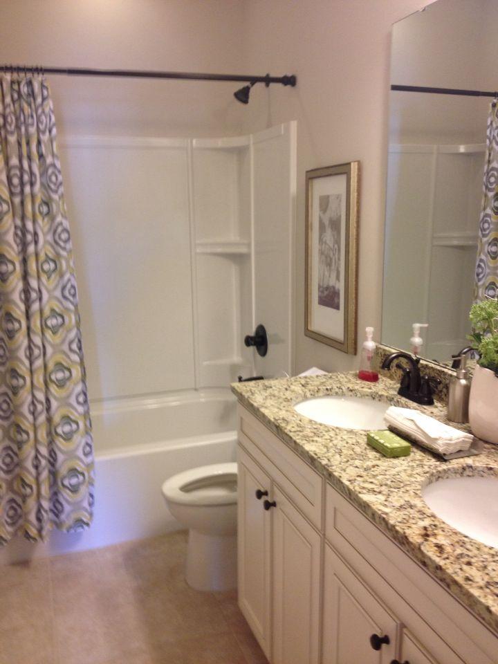 Guest bath Dalton floor plan Mungo Homes