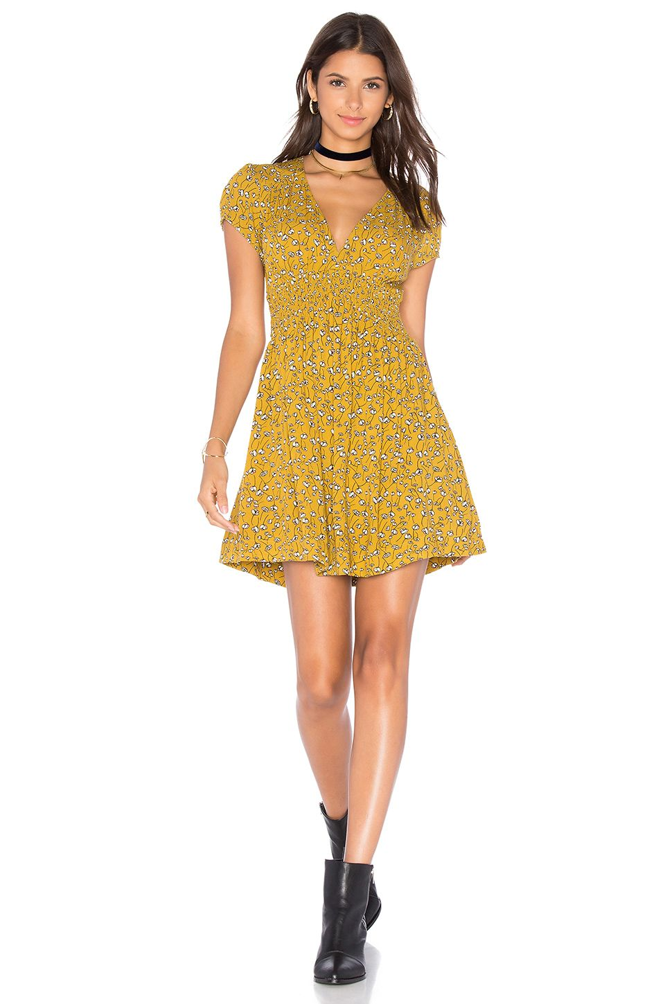 Pretty baby dress yellow combo pretty baby free people and shorts