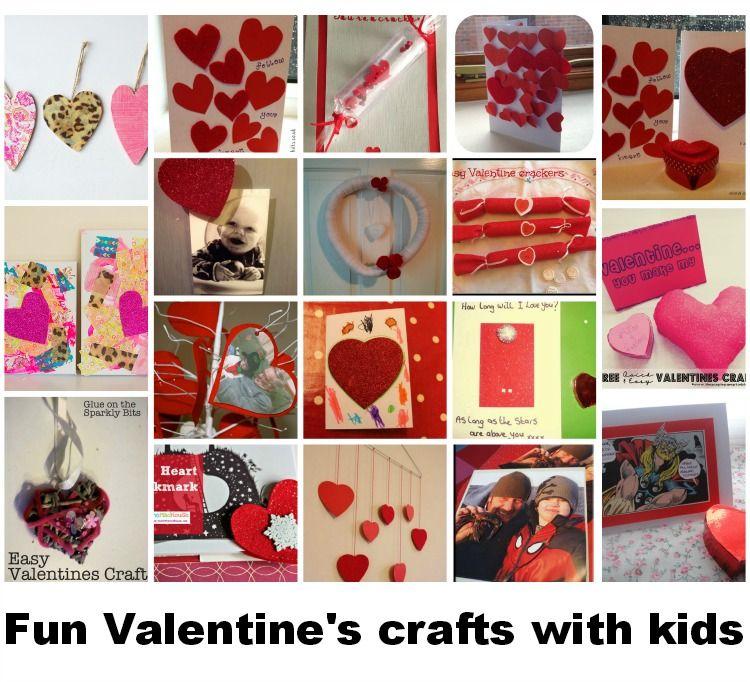 Valentine's crafts with kids