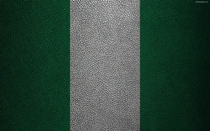 Download Wallpapers Flag Of Nigeria Africa 4k Leather Texture Nigerian Flag Flags Of Africa Nigeria Besthqwallpapers Com Nigeria Flag Nigerian Flag Africa Flag