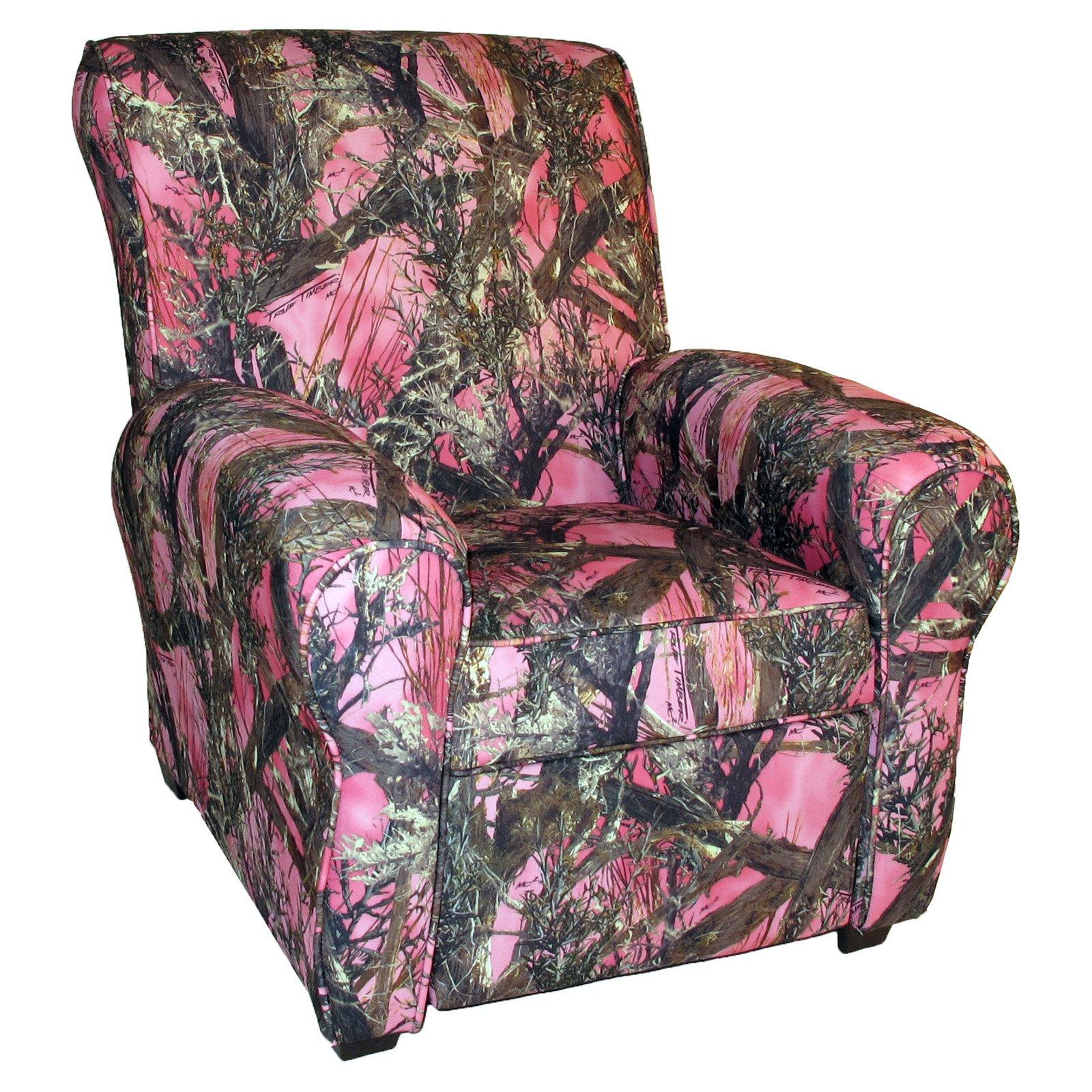 Dozydotes Big Kid Camouflage Recliner Pink True Timber Kids