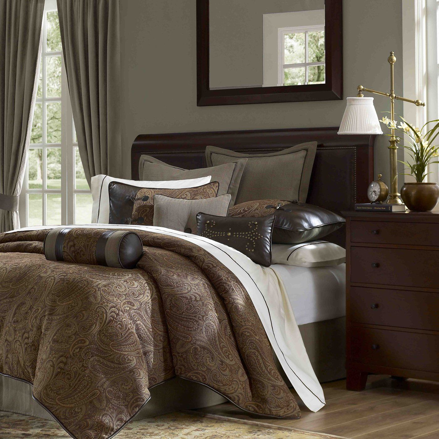 Hampton Hill Bedding JLA100 Drummond Comforter Set