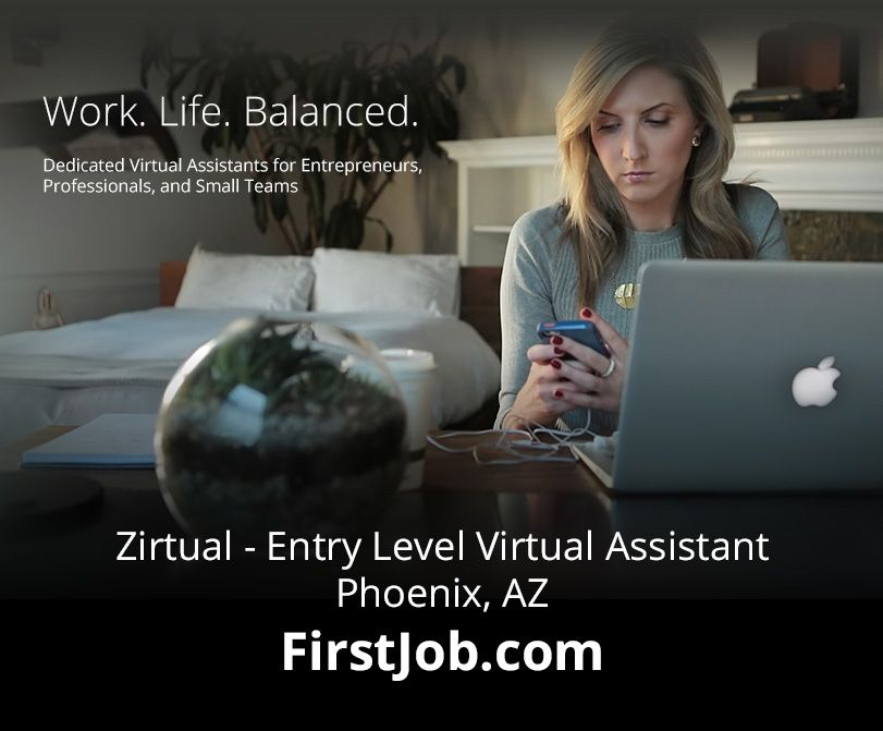 Zirtual is looking for a Zirtual Assistant! It's a full