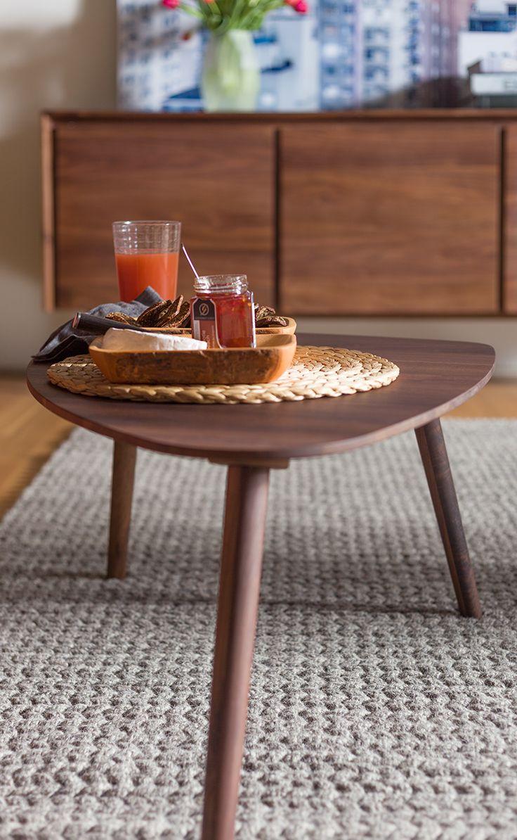 Amoeba Wild Walnut Coffee Table Interieur Woonkamer