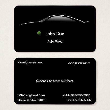 Concept car auto sales business card auto sales cars auto and concept car auto sales business card colourmoves Image collections