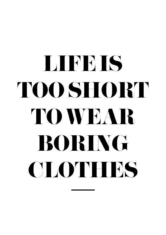 Life is Too Short Fashion Wall Art Gossip Girl Print Black | Etsy