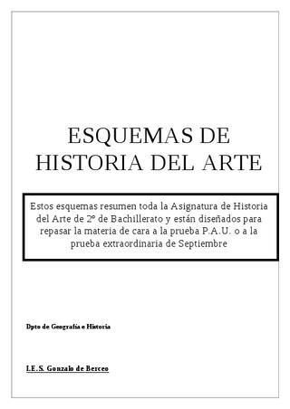 Resumen de historia del arte completo