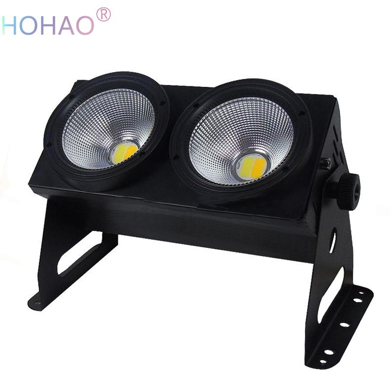 Find More Stage Lighting Effect Information About New Arrive 2 Eyes Stage  Led Audience Light COB Flood Light For Theatre Stage TV Conference Warm  Light,High ...