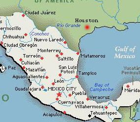I have been in Monterrey Saltillo Mexico City and Puebla Been