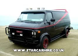The 1983 Gmc Vandura Owned By B A Baracus In The A Team Tv Cars