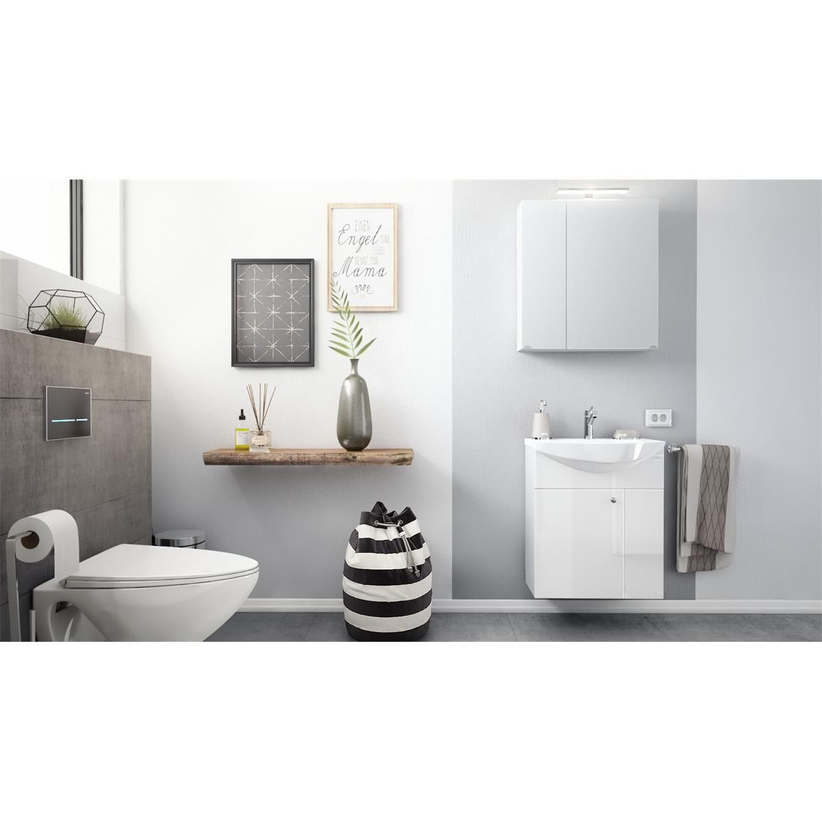 Badezimmer Set Fresh Badezimmer Set Spiegelschrank Led Spiegelschrank