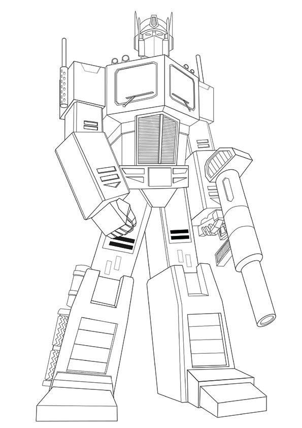 Print Coloring Image Rhonda S Board Transformers