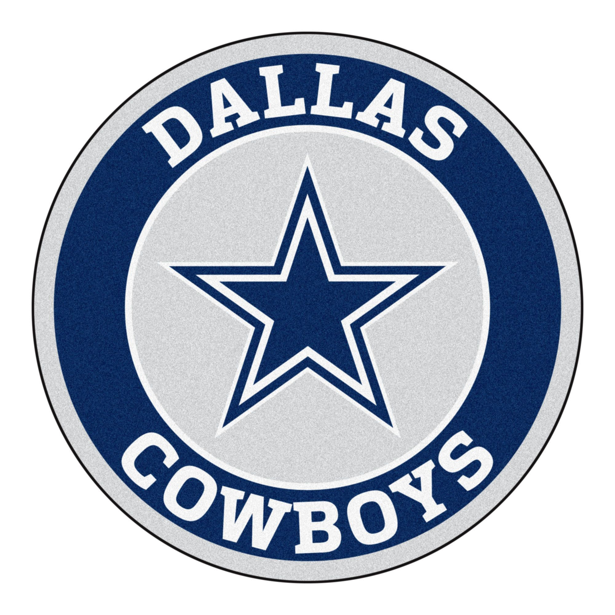 roundel mat dallas cowboys dallas cowboys logo cave game and rh pinterest com dallas cowboys logo pictures myspace dallas cowboys star logo pics
