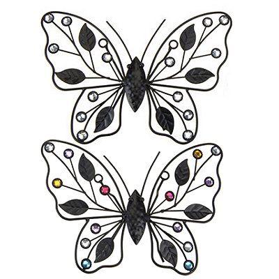 Deco Vlinder Metaal 22 Cm Goedkoop Kopen 2 95 Dekoratie Tuinartikelen Online Winkel Deco Vlinders Metaal