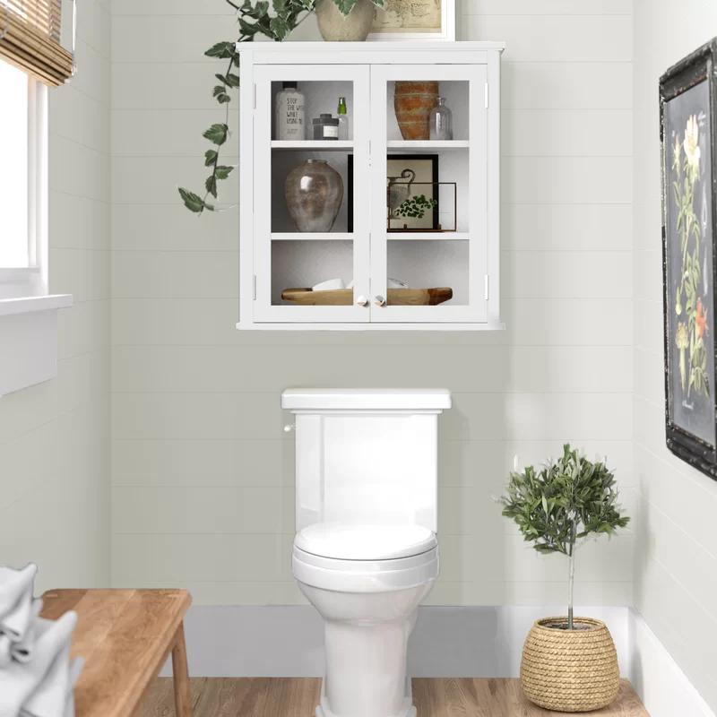 Amett 27 W X 29 H Wall Mounted Bath Storage Cabinet In 2020 Bath Storage Bathroom Decor Bathroom Design Decor