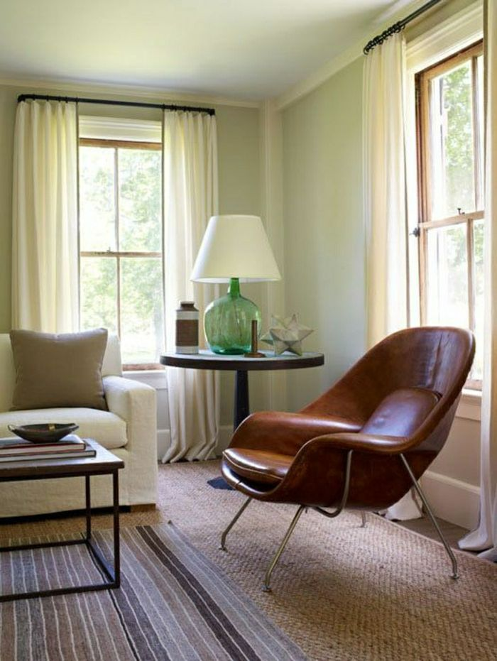 Lederstühle Lederstuh Wohnzimmer Einrichten Wohnzimmer Gestalten    EINRICHTUNGSIDEEN   Pinterest