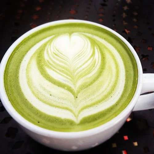 An Almond Milk Matcha Tea Latte Is The Perfect Afternoon