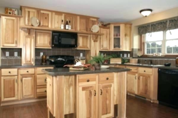 Concrete Countertops Hickory Cabinets Google Search In 2020 Kitchen Renovation Rustic Kitchen Cabinets