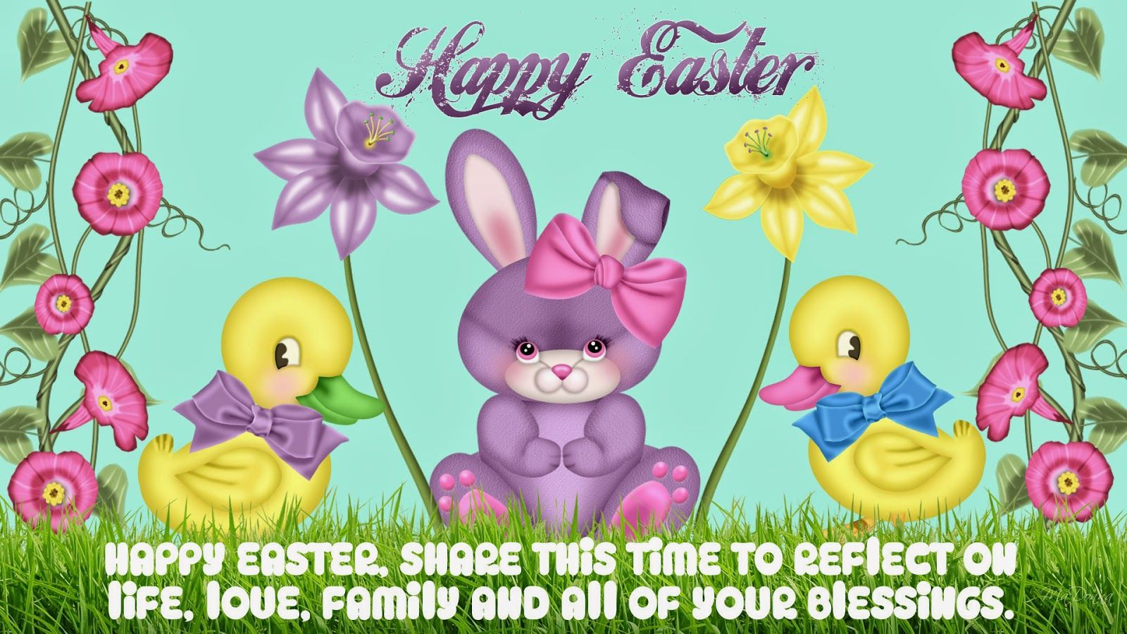 Happy Easter Greetings Message Happy Easter Wishes Picture Cards