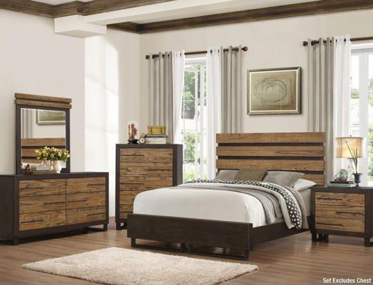 Logan 6pc King Bedroom Set Art Van Furniture Bedroom Set