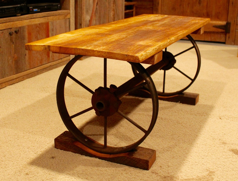 Wagon Wheel Bench By Fromthebarnandbeyond On Etsy Wagon Wheel Bench