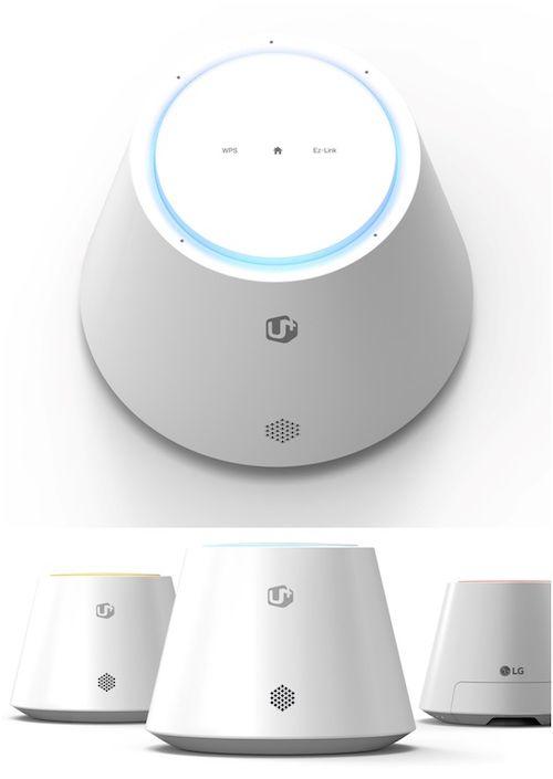 Lg Uplus Iot Hub Ihu50 Nur Scheinbar Ein Amazon Echo Der Lg Uplus Iot Hub Wurde Unmittelbar Fur Die Smart Hom Smart Home Smart Home Control Smart Home Design
