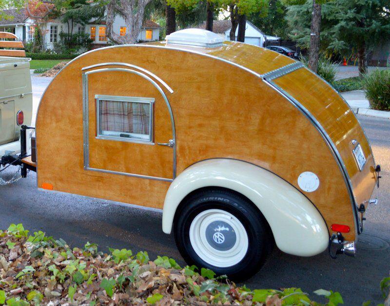 Vintage Teardrop Camper