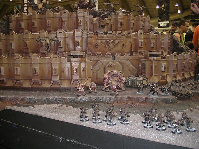 sany2978 chaos fortress nurgle vs imperial guard ok by s00nertp via flickr w40k warhammer. Black Bedroom Furniture Sets. Home Design Ideas