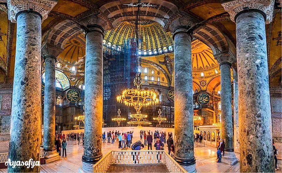 拜占廷建築之美:聖索菲亞博物館之二。 ©Hamit Yalçın