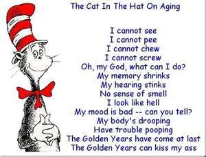 on old age a funny poem comedy picture and a humorous saying with ...