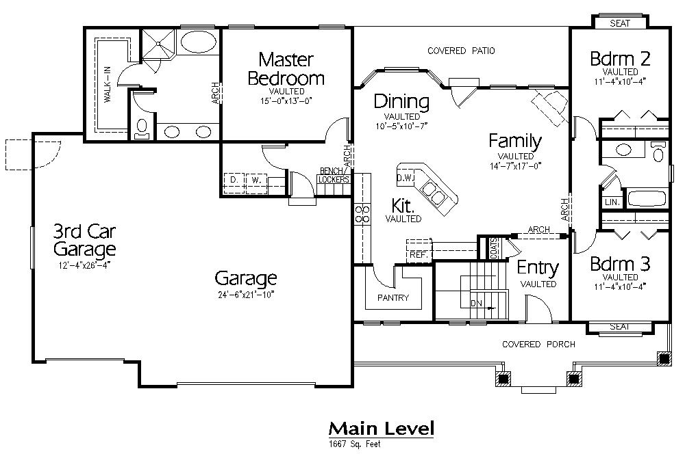 R-1667a | Hearthstone Home Design | Making Plans | Pinterest | House