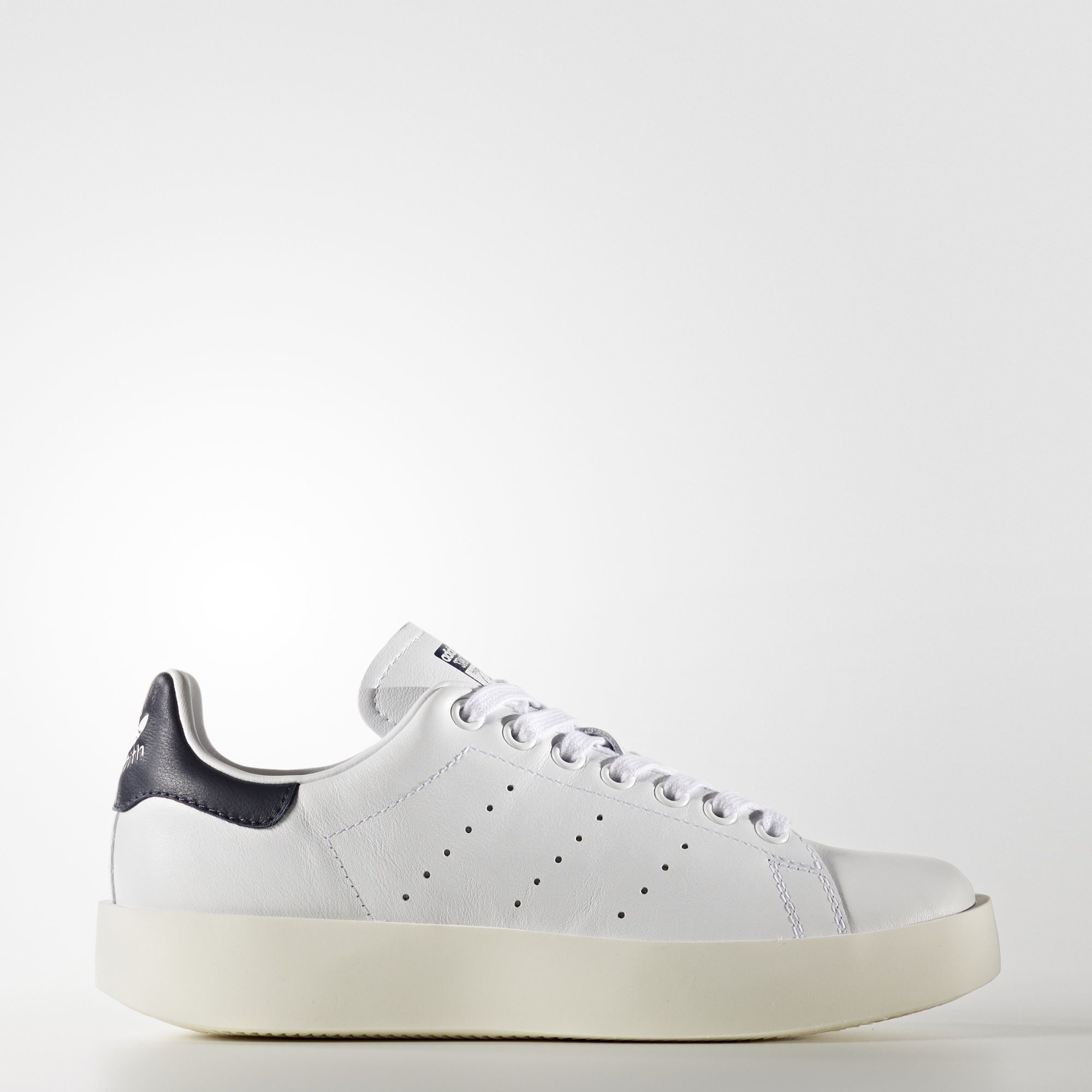 Chaussures Adidas Stan Smith Bold blanc cassé Casual femme