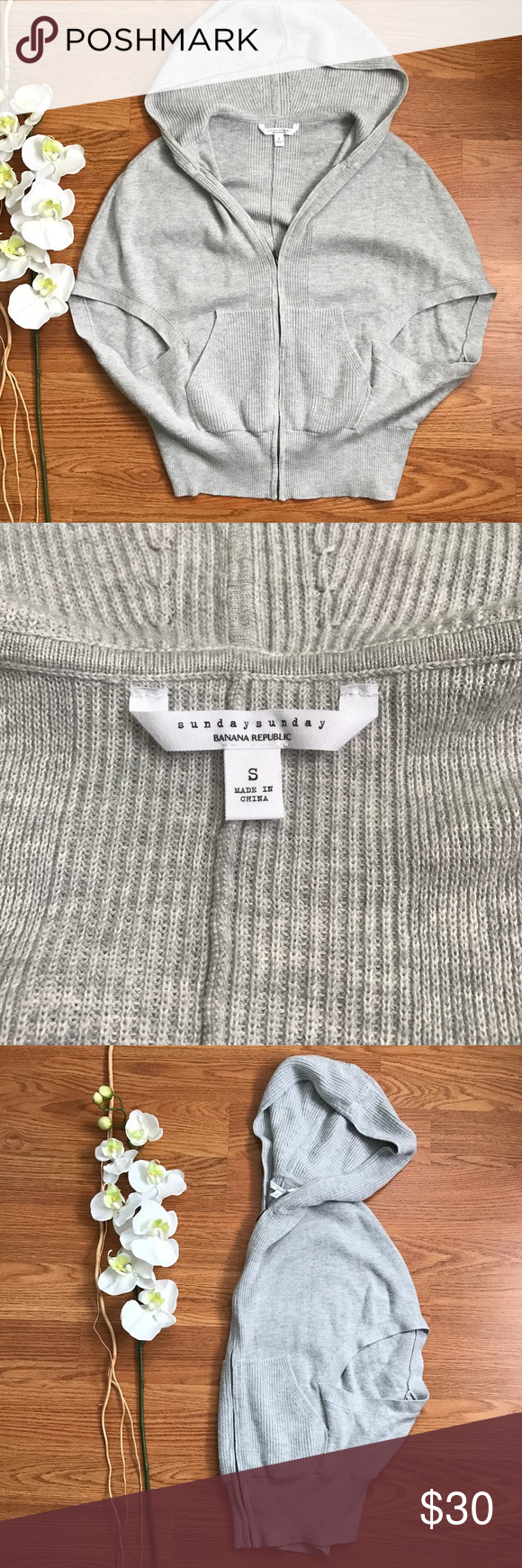 Banana Republic Sunday Sunday Cocoon Lounge Top S Cozy + chic lounge sweater. Sunday Sunday Banana Republics lounge line. Size Small. Excellent Condition Banana Republic Tops