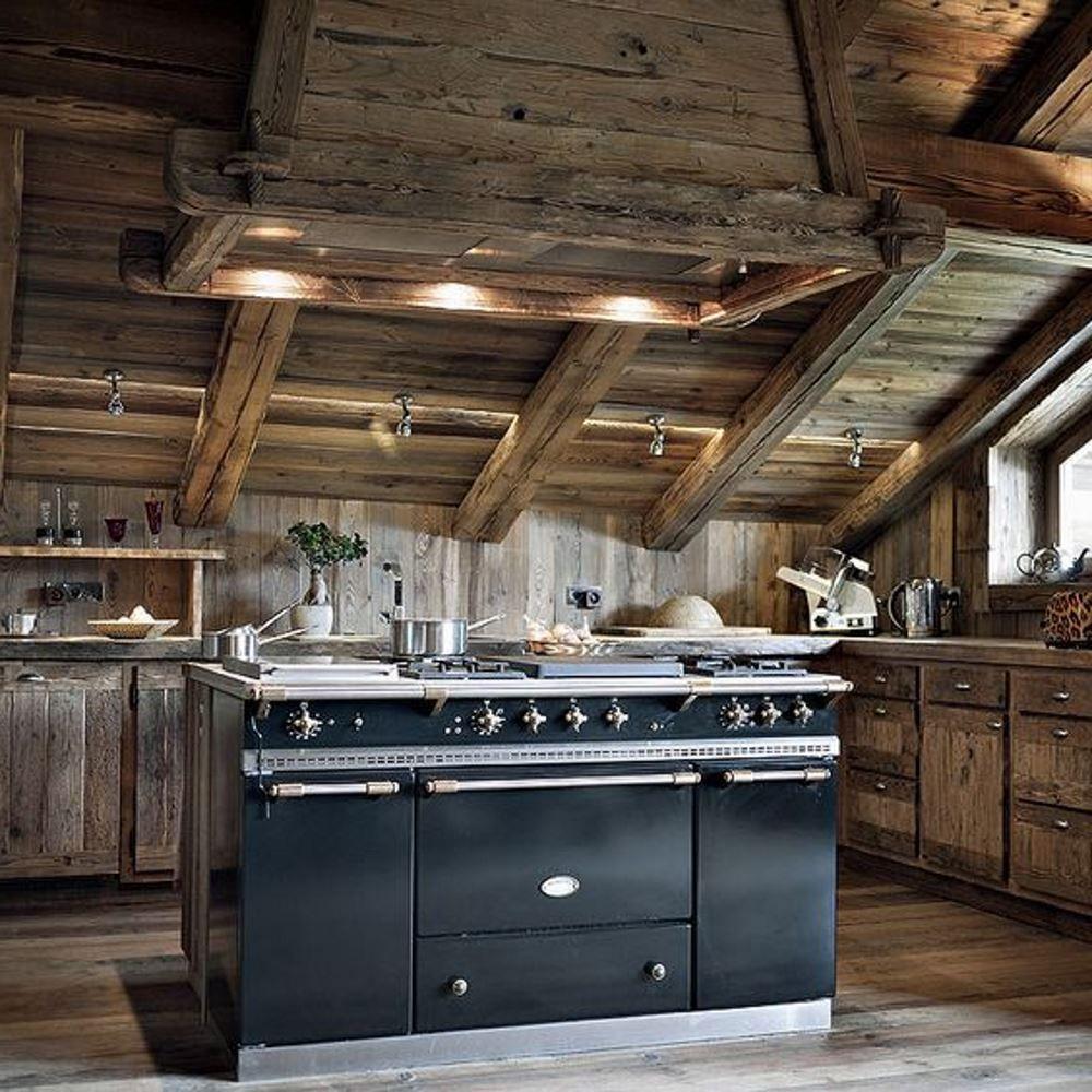 Cuisiniere A Bois La Cornue image du tableau dream kitchen de jaz | cuisiniere lacanche