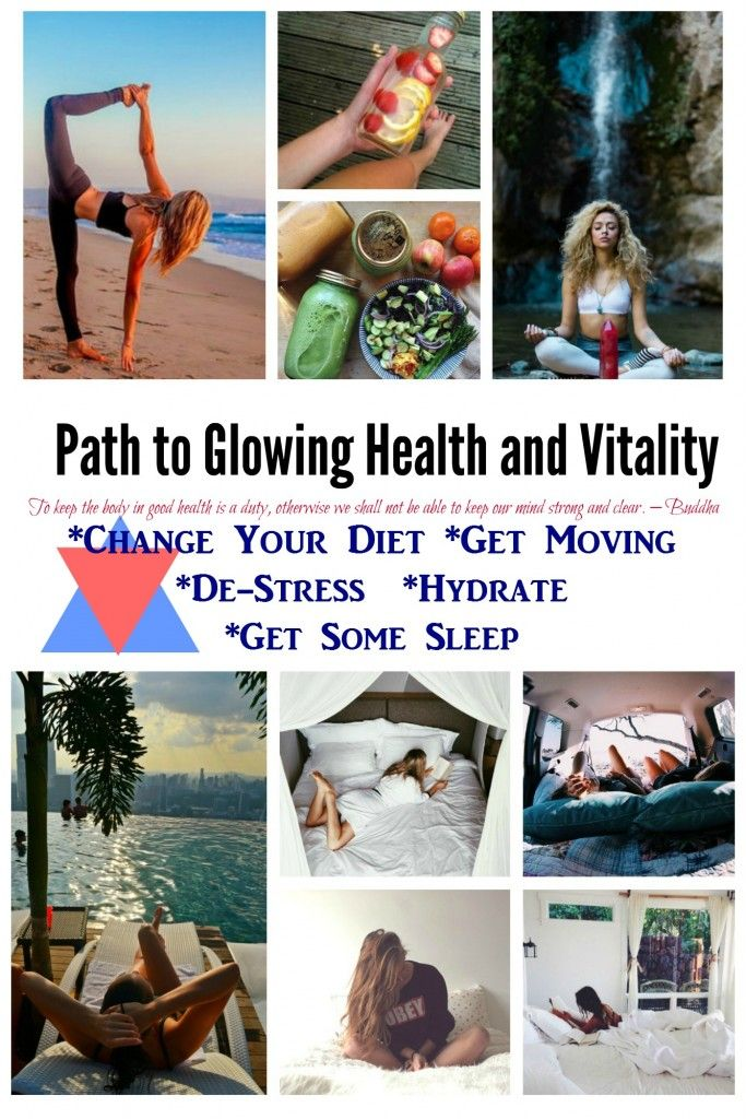 Path To Glowing Vitality-Health Series  Being healthy is the prerequisite not only for normal functioning, but for happiness as well.
